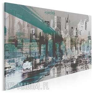 obraz na płótnie - nowy jork miasto 120x80 cm 29601, ny, nyc