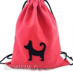 Backpack nr 3 - ,plecaczek,kotek,kot,zamsz,
