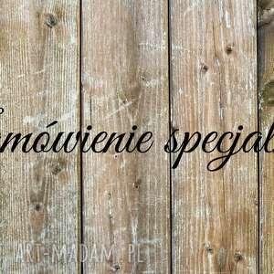 zamówienie specjalne, spinki, drewniane