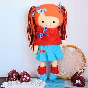 cukierkowa lalka daria 43 cm - wersja zimowa, lalka, szmacianka, dziewczynka