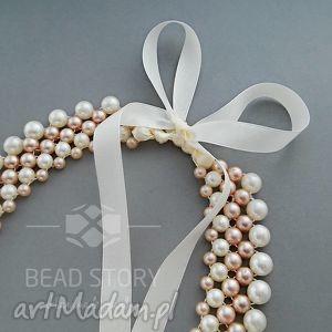 Elizabeth naszyjniki bead story elegancja, klasyka, ślub