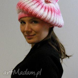 hand-made czapki czapa naleśnikowa, beret