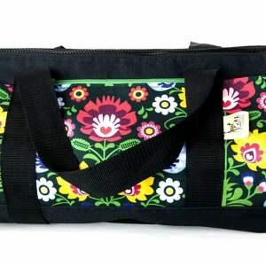 Pino etno podróżne just catch handmade kodura, kwiaty,