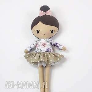 lalka przytulanka sara, 45 cm, lala, lala ręcznie szyta, prezent