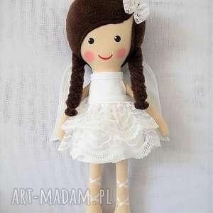 ręcznie wykonane lalki aniołek amelia