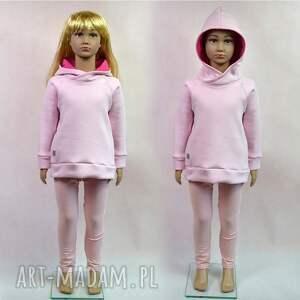 różowa ciepła bluza dziecięca, rozmiary 68-128, bluza, różowa