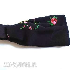 opaski opaska damska materiał gumka wzory wiosna dredy, opaska, wiosna, ludowa