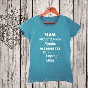 Koszulka z nadrukiem ciążowym, dla kobiety w ciąży, mama - ciążowa, ciążowe