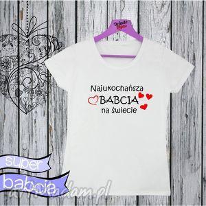 Koszulka z nadrukiem dla babci, dla kobiety, prezent babcia - babcia, prezent