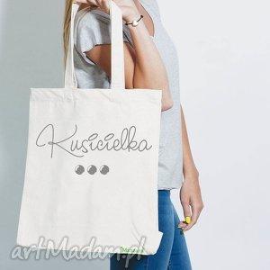 na zakupy bawełniana torba ekologiczna eko - kusicielka , bawełniana