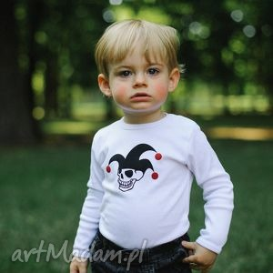 body dla dzieci i niemowląt z długim rękawem - błazen, body, śpioszki, pajac