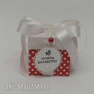Kartka pudełko urodziny 18 scrapbooking kartki qachna