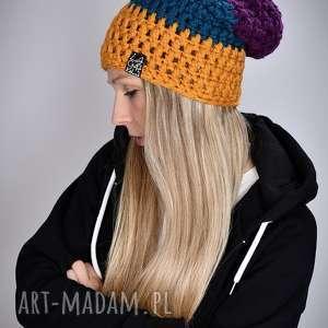 czapki czapka tricolour 03, wesoła czapka, snowboardowa