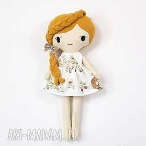 lalka przytulanka anna, 45 cm, handmade, szmacianka, laleczka