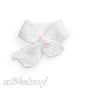 szalik pink lady, szalik, szaliczek, włóczka, antyalergiczny, niemowlę, dziecko dla