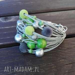 unikalne prezenty, zielono srebrna, zieleń, srebro, drewno, stylowo, dodatek