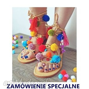 buty zamówienie specjalne dla pani magdaleny, sandały