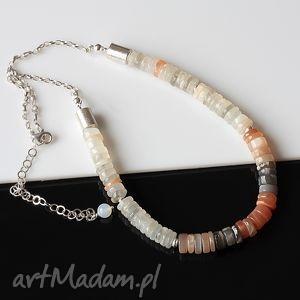 handmade naszyjniki kamień księżycowy