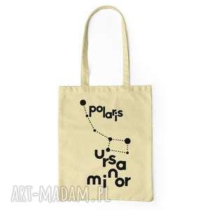 konstelacje gwiazd torba na zakupy, bawełna ecru, gwiazdozbiór, gwiazdy, zakupy