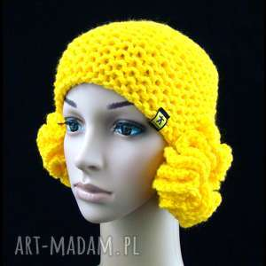 czapka z meduzami - nausznikami różne kolory, czapka, czapeczka, nauszniki