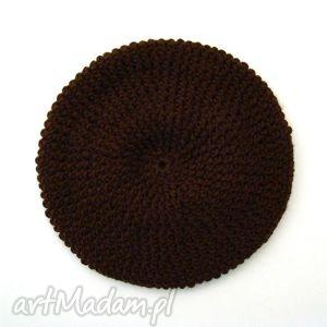 ręcznie zrobione na święta prezent czekoladowy:) beret