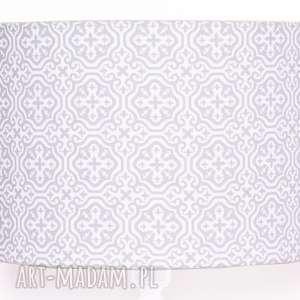 abażur marrakech grey 40x40x25cm od majunto, mozaika, abażur, abażurek