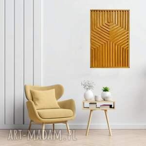 aleksandrab obraz z drewna, dekoracja ścienna 93- demeter ż/, dekoracja