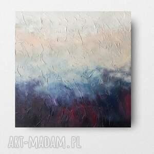 abstrakcja-obraz akrylowy formatu 60/60 cm, abstrakcja, obraz