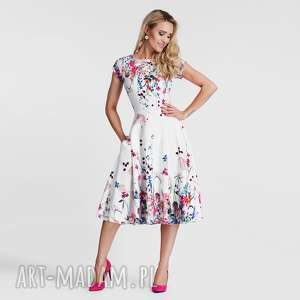 ręcznie zrobione sukienki sukienka klara total midi otylia