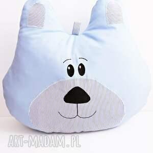 poduszka miś z możliwością personalizacji, miś, poduszka, prezent, łóżeczko, pokoik