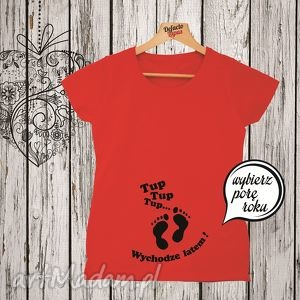 ciążowe koszulka z nadrukiem ciążowym, dla kobiety w ciąży, mama, ciążowa