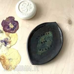 ręczne wykonanie ceramika ceramiczna mydelniczka