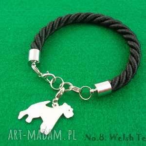 Prezent Bransoletka terrier walijski pies nr.8, bransoletka, pies, prezent