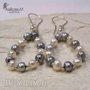 1bc802430ccacf ... prezent na święta, delikatna perła, długie, wiszące, ażurowe ...