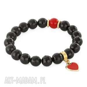lavoga love - onyx with heart - serce onyks