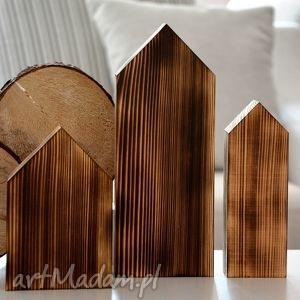 Domki drewniane dekoracje w stylu skandynawskim, domki, domek,