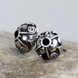 A360 Esy floresy kolczyki srebrne, kolczyki, oryginalne, srebrne