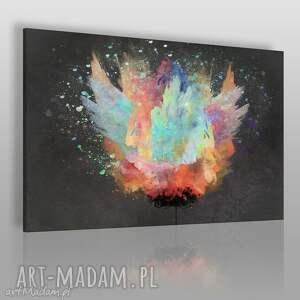 obraz na płótnie - kwiat artystyczny 120x80 cm 70501, kwiat, artystyczny, sztuka