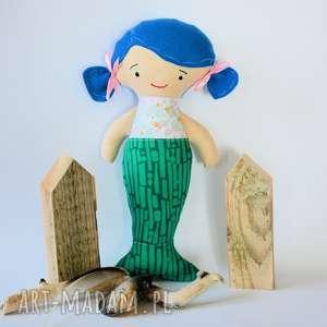 Lalka - Kasia syrenka 30 cm, lalka, syrenka, morze, dziewczynka, urodziny, roczek