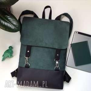 ręcznie wykonane plecak na laptopa