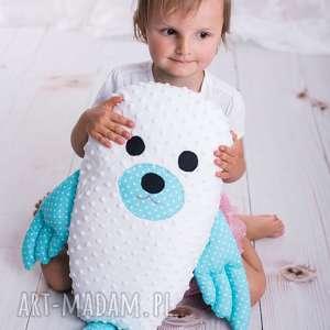 Prezent Poduszka dziecięca foka , foka-poduszka, maskotka-foka, hand-made-dziecko