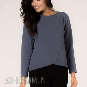 bluzka agata 6, elegancka, asymetryczna, modna, asymetria, casual, codzienna