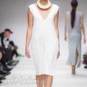 sukienki lelya - biała, wizytowa, ślubna, koktailowa, dekolt, unikatowa ubrania