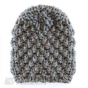 czapka #52, czapa, masywna, duża, gruba, wełniana