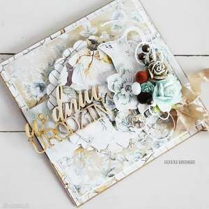 hand made scrapbooking kartki w dniu urodzin, kartka w pudełku, 549