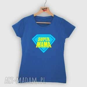 koszulki koszulka z nadrukiem dla mamy, prezent na dzień matki, super mama, mama
