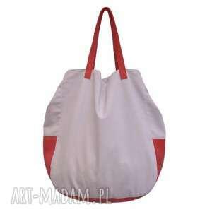 06-0011 porcelanowa torba worek xxl na zakupy swallow maxi, duże, torebki, worki