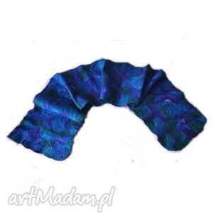 hand-made szaliki szal nuno szal filcowany z wełny