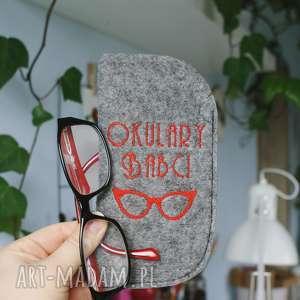 Etui na okulary Babci, babcia, dzień, babci, etui, okulary, haft