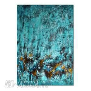 tierra el hielo 11, abstrakcja, nowoczesny obraz ręcznie malowany